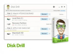 Disk Drill Pro 3.7.932 Crack + Activation Code [Mac + Win] Download